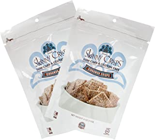Skinny Crisps Cinnamon Gluten Free Crackers (Pack of 2)