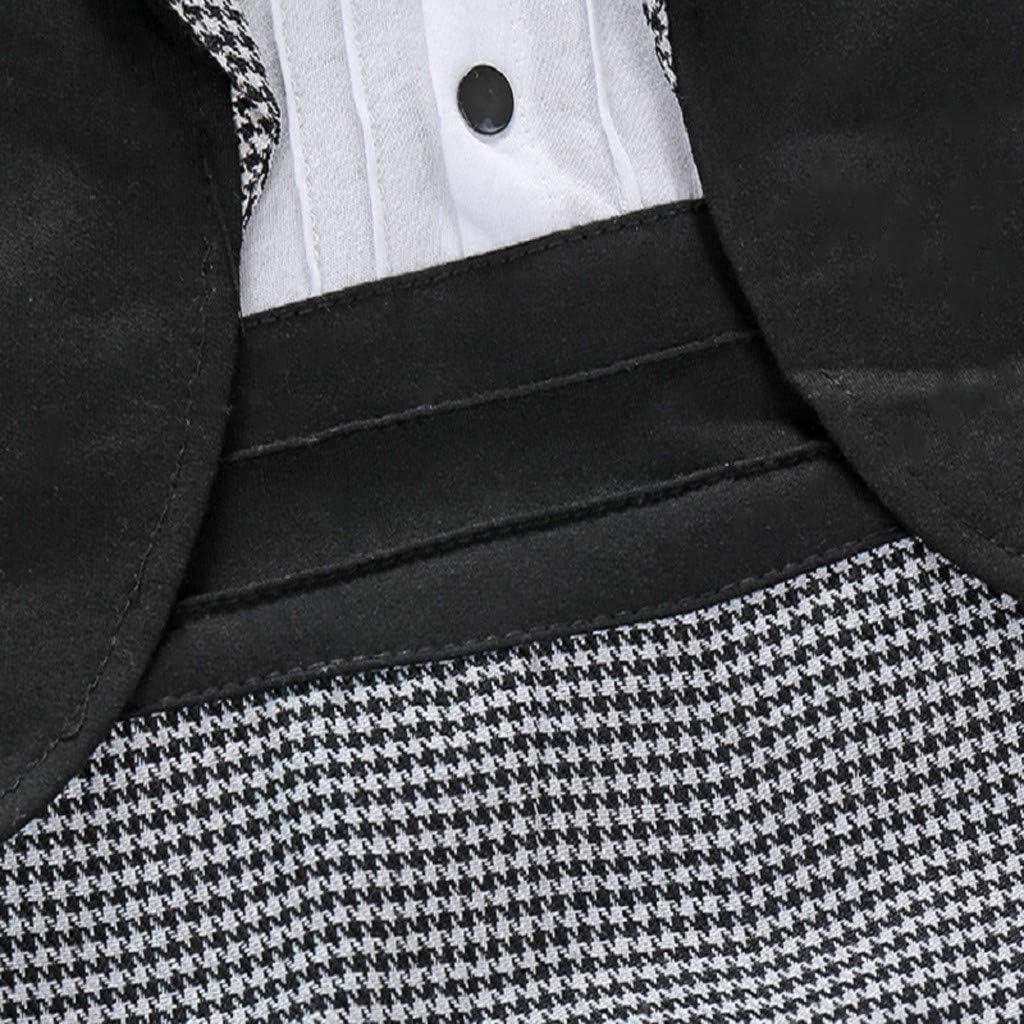 Jungen Bowtie Overall Bodysuit 0-24 Monate wuayi Baby Jungen Schwalbenschwanz Strampler