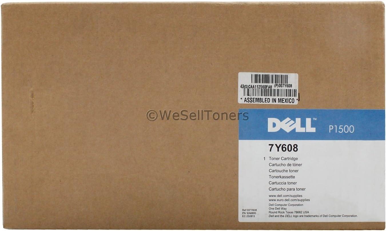 Dell 7Y608 Black Toner Cartridge P1500 Laser Printer