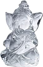 ZenBless Ganesh Ganesha Hindu Sculpture Crystal Statues for Car Dashboard/Home/Office Decor Ganesh Chaturthi