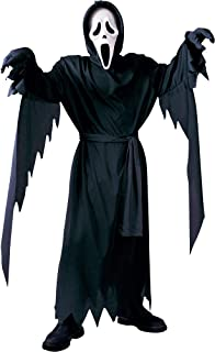 FUN WORLD EASTER UNLIMITED Scream Ghost Face Halloween Costume for Boys, Large, with Included Accessories