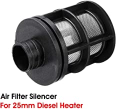 Car Accessories - 25mm Air Intake Filter Silencer Black Auto Air for Diesel Heater Parking Heater For Dometic Eberspacher