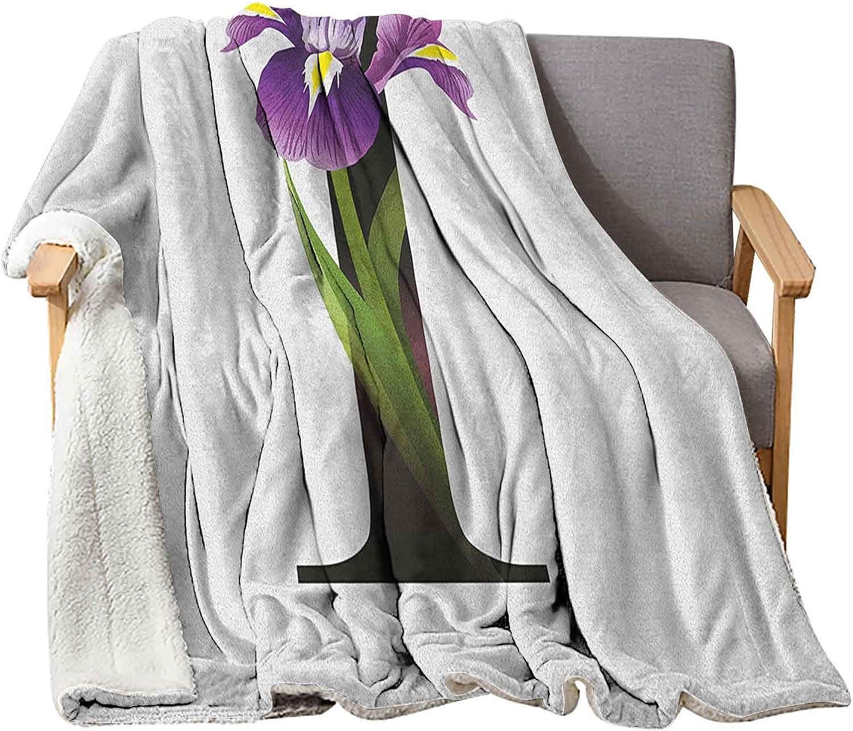 Industry No. 1 depot Interestlee Letter I Baby Blankets 60