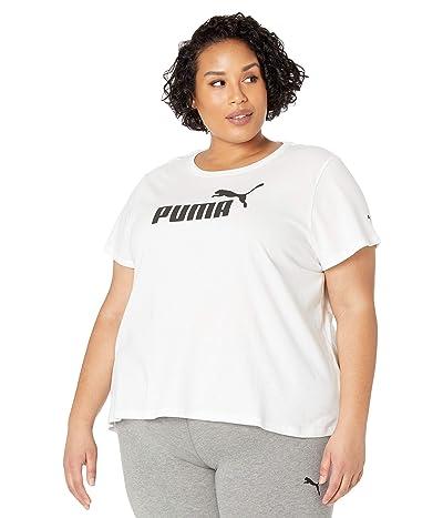 PUMA Plus Size Essential Logo Tee