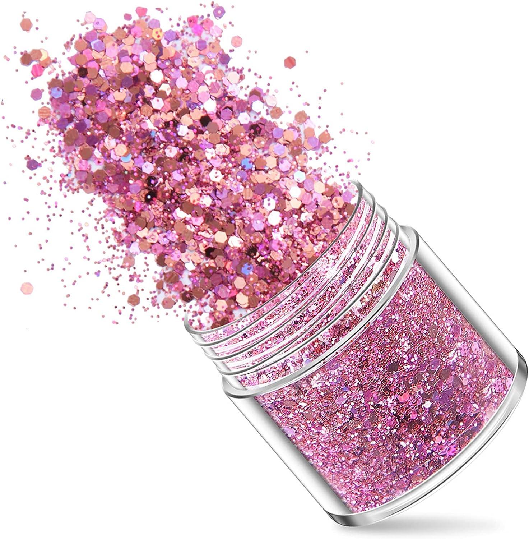 Fuchsia Nails Glitter Mixed Louisville-Jefferson County Mall Powder Flash Ultra Powd El Paso Mall Fine Sequins