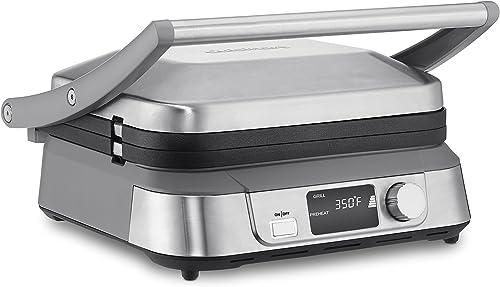 2021 Cuisinart online sale Electric Griddler, outlet sale Stainless Steel online