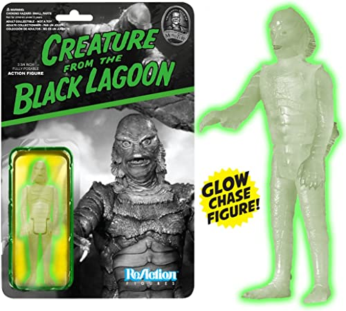 Universal Monsters ReAction-Figurs Creature From The Black Lagoon Action-Figur - Glowing Variant
