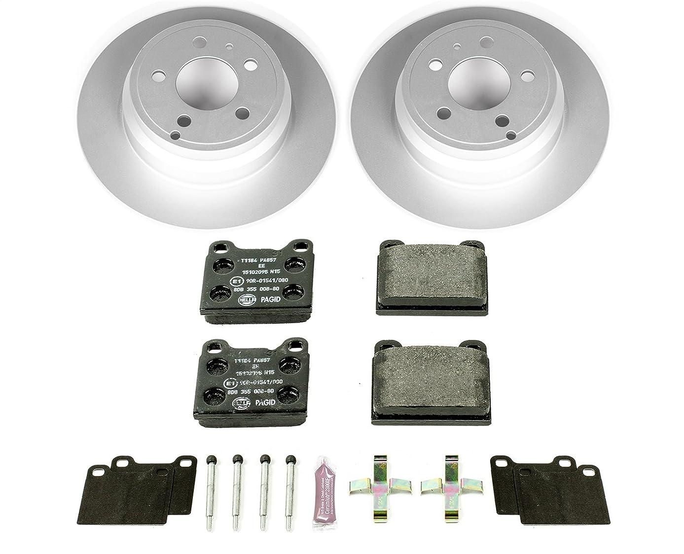 Power Stop ESK3145 Rear Euro-Stop Brake Kit