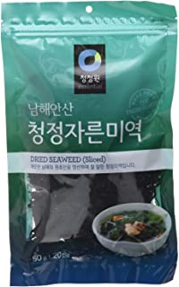 2 Packs - Dried Seaweed (Sea Mustard), Pre-cut sliced for Soup and Salad (1.7Oz/50g)