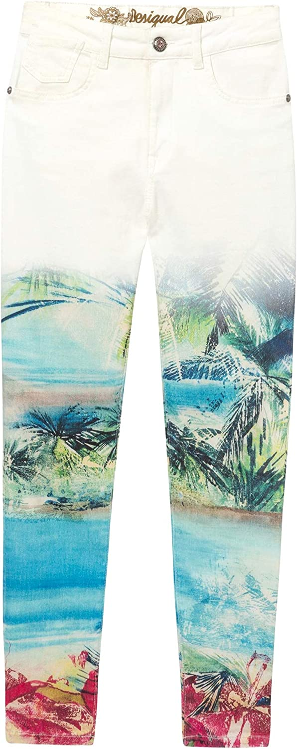Desigual Tropical Ankle Jeans Juno