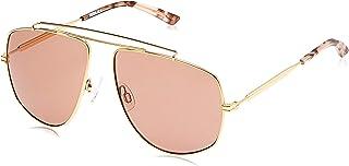 Puma Men's PU0188S PU0188S-005 59 Aviator Sunglasses, Gold, 59 mm