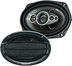 """2X Audiobank AB-690 6""""x9"""" 1400 Total Power Handling Watts 5-Way Car Audio Stereo Coaxial Speakers Frequency Response: 45 -... photo"""