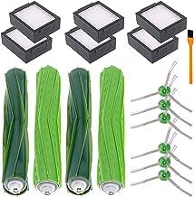 Hongfa for Roomba I7 Replacement Parts Replenishment Kit for i-Robot Roomba E6 E5 i7 7150 i7+/i7 Plus E7 Robot Vacuum(6 Fi...