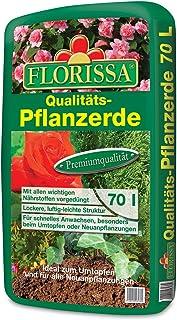 Florissa - Tierra para plantas, 70 litros, producto de