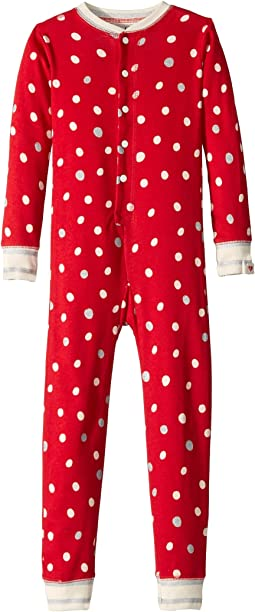 Metallic Dots Organic Cotton One-Piece (Toddler/Little Kids/Big Kids)