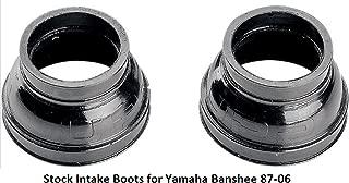 Orange Cycle Parts Carb Carburetor Stock Intake Boots for Yamaha YFZ350 Banshee 1987 - 2006
