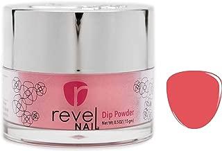 Revel Nail Dip Powder   for Manicures   Nail Polish Alternative   Non-Toxic & Odor-Free   Crack & Chip Resistant   Can Last Up to 8 Weeks   2 oz Jar   Revel Mates (Gala, 2oz)