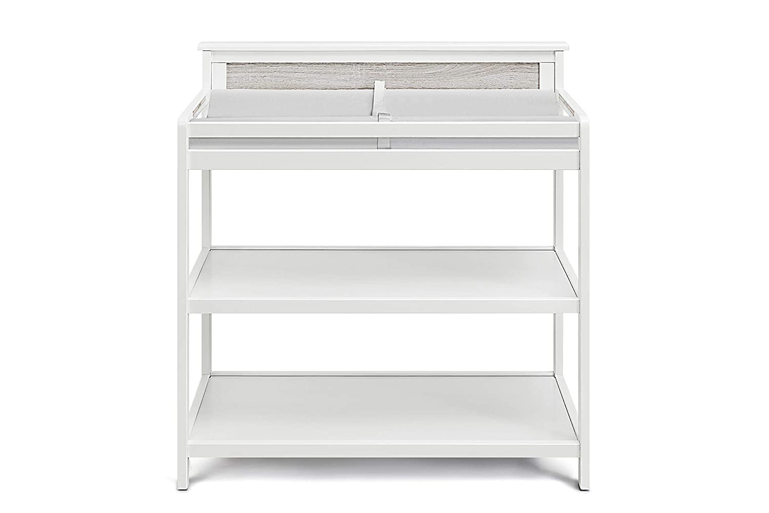 Suite Bebe - Connelly Changing free shipping Non Toxic Wood Table security White