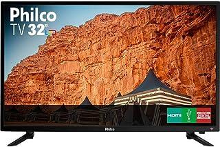 """TV LED 32"""" Philco PTV32C30D HD com Conversor Digital 2 HDMI 1 USB 60Hz - Preta"""
