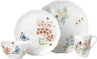 Lenox 882267 Butterfly Meadow Flutter Redpoll Finch 4 Piece Place Setting
