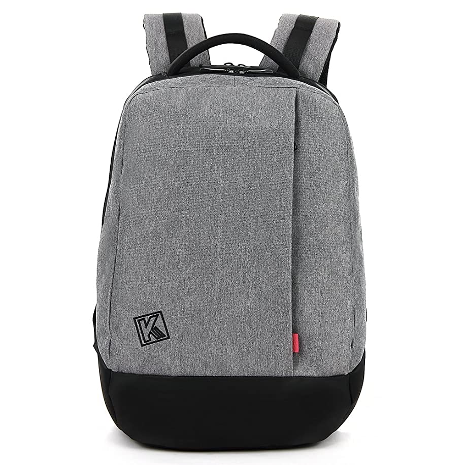KINGSLONG 15.6 inch Laptop Backpack, Travel Computer Bag for Men Anti Theft Water Resistant College School Bookbag Slim Business Backpack