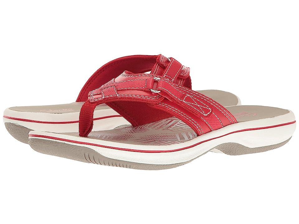 Clarks Breeze Sea (Red) Women