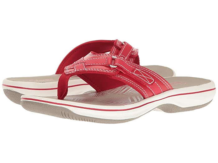Clarks  Breeze Sea (Red) Womens Sandals
