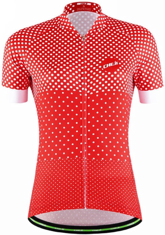 Shensan Women Cycling Jersey Short Sleeve Sports Clothing