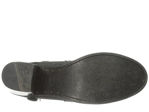 Frye Malorie Knotted Short Black Polished Stonewash