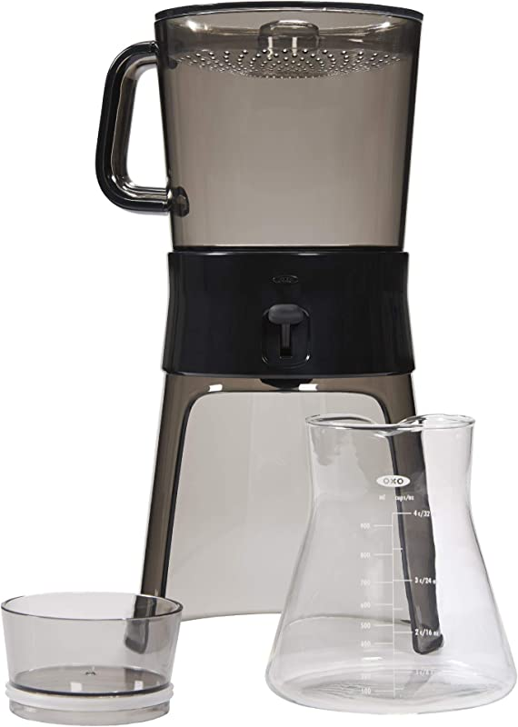 OXO BREW Cold Brew Coffee Maker 32 Ounces With 10 Paper Filters