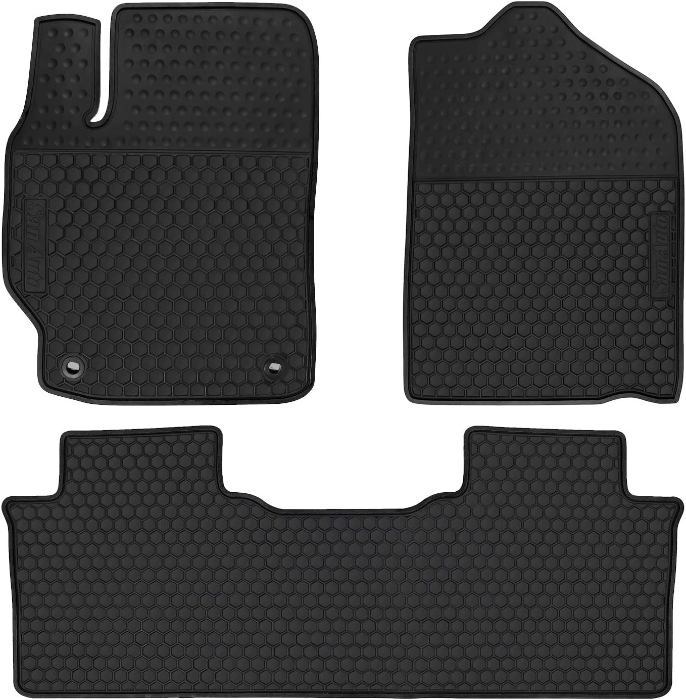 HD-Mart Car Rubber Branded goods Floor Shipping included Mat Toyota 2012-2013-2014 7th Camry for