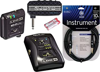 Line 6 Relay G30 Digital Instrument Wireless System 2.4 gHz 6 Channels w/ 10' Cable and Mini Plug-in Amp