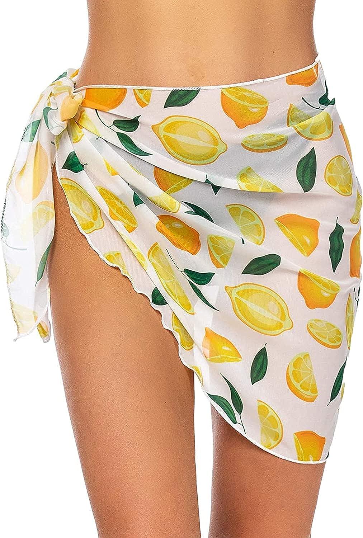 TISDEN Dedication Women Beach Wrap Sarong Sheer Ups Japan Maker New Bikini Cover Sw Chiffon
