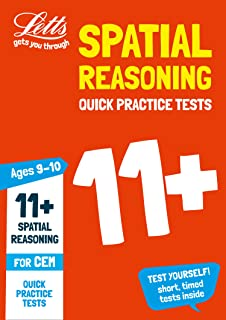 11+ Spatial Reasoning Quick Practice Tests Age 9-10 for the CEM tests (Letts 11+ Success)