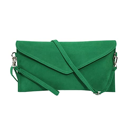 b956d0beae3e Jieway Women's Faux Suede Evening Clutch Bag Crossbody Bag Shoulder Handbag