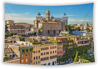 Wall Tapestry For Bedroom Hanging Art Decor College Dorm Bohemian, Capitol Building View From Palatine Hill Palazzo Senato...
