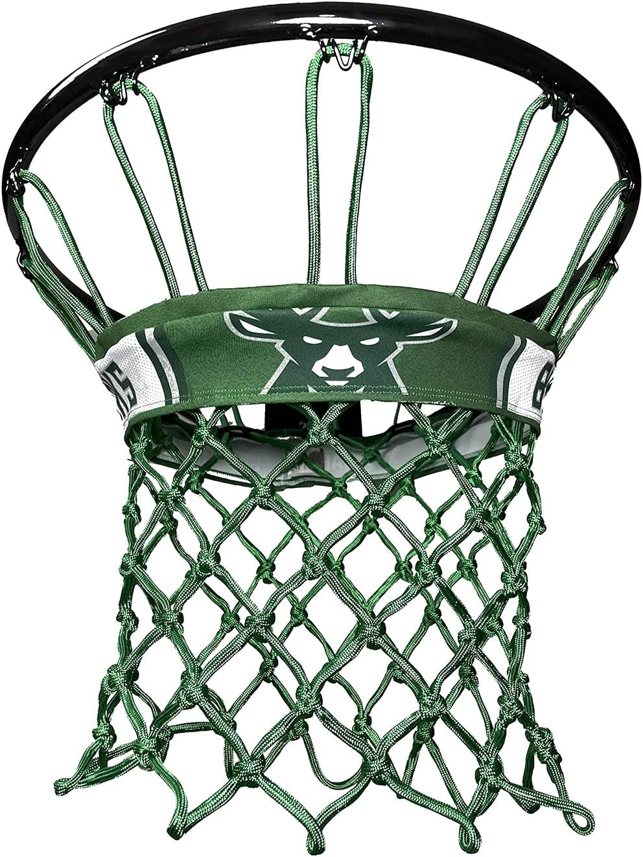 Netbandz Super sale period limited Memphis Mall Milwaukee Bucks NBALAB Regulation Basketb Size Licensed