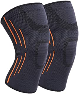 Knee Brace, TERSELY Knee Sleeve Support for Men and Women, Anti Slip Super Elastic Breathable Compression Knee Sleeves for...