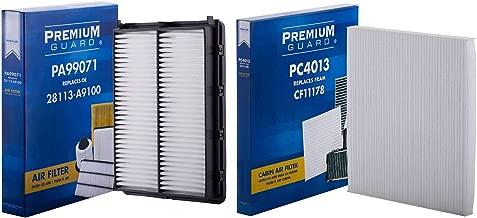 PG Kit Engine Air and Cabin Filter AC0714013| Fits 2017-18 Hyundai Santa Fe Sport, 2015-19 Kia Sedona