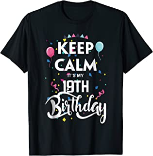 Best keep calm its my 19th birthday Reviews