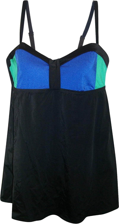 Longitude Women's Swimdress Swimsuit color Blocked