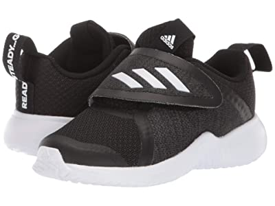 adidas Kids FortaRun X CF (Toddler) (Black/White) Girls Shoes
