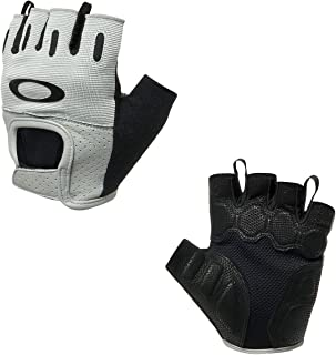 Oakley Factory Road 2.0 Short Finger Men's BMX Gloves - Jet Black/Small