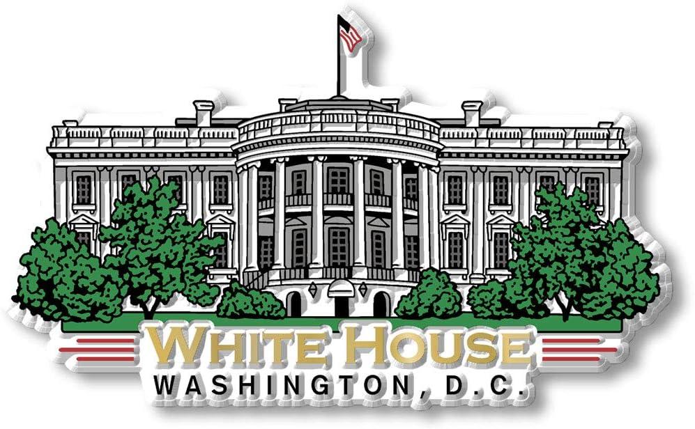 White House Magnet by Classic free Washington D.C. Bargain sale Series Magnets C