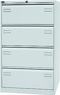 BISLEY Light Armoire pour Dossiers suspendus 4 tiroirs L800 x H1321 x P622mm Gris