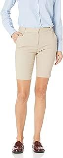 Junior's Uniform Skinny Bermuda Stretch Twill Short