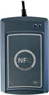 LuxtechPro ACR122S Serial NFC Reader 13.56 MHz Contactless RFID Reader ISO 14443 MIFARE Felica Compliant ISO/IEC 18092 Standard