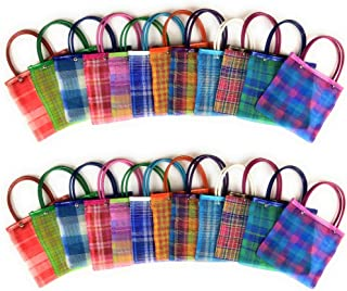 Mini Mexican Tote Favor Bags (Mexican Candy Bags - Mexican Mercado Bags - Mexican Mesh Bags - Bolsas Para Fiestas) - 8