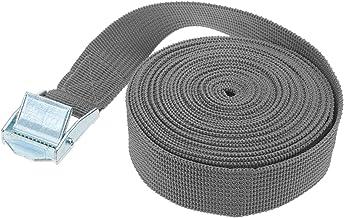 Spanbanden, 5m x 25mm auto span touw tas down riem sterke ratel riem bagage tas lading sjorren met touwspanner metalen ges...