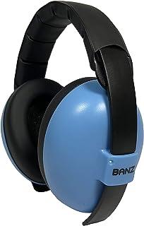 BANZ Mini Earmuffs, Blue, Small